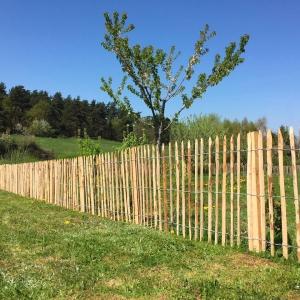 Paysagiste ribérac - Clôture bois